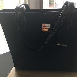 Dooney and Bourke black leather Charleston bag